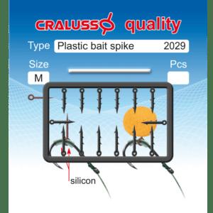 Kolec do Przynęt PLASTIC SPIKE 10-13mm M Cralusso 2029-M Akcesoria do Methody > Gumki
