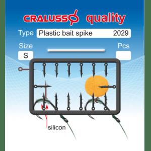 Kolec do Przynęt PLASTIC SPIKE 5-7mm S Cralusso 2029-S Akcesoria do Methody > Gumki