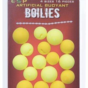 BUOYANT BOILIES YELLOW & FLUO YELLOW Kulki ESP Kod: ETBBYFY01 Przynęty Sztuczne