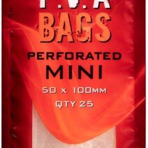 Worki P.V.A. MINI PERFORATED 50x100mm 25szt. ESP Kod: ETPVAB5X10PF Program Carp ESP