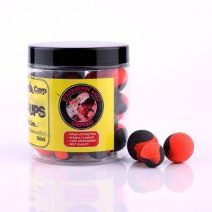 Genesis Carp GENESIS CARP FLUO PERFECT POP-UP Strawberry Krill 12-15mm