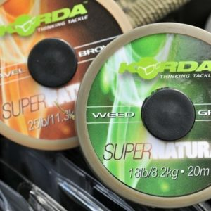 Korda KORDA Super Natural - Gravel Brown  - 18lb 20m
