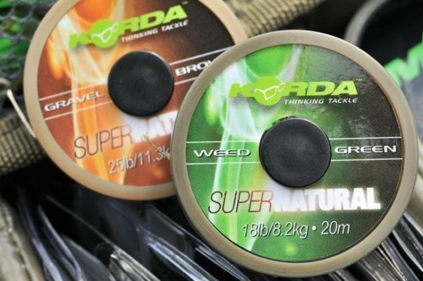 Korda KORDA Super Natural - Weedy Green - 18lb 20m