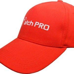 Czapka z Daszkiem TEAM RED  MatchPro Odzież wędkarska