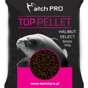 HALIBUT SELECT 6mm Pellet MatchPro 700g Pellety Zanętowe