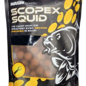 Nash NASH  SCOPEX SQUID STABILISED BOILIES 18MM 5KG