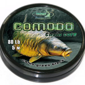 Katran KATRAN Chain Core Comodo 80lb Camo Brown Black
