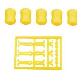 DUMBELLS SLOW SINKING YELLOW żółty 5+1 MatchPro Akcesoria do Methody > Pozostałe
