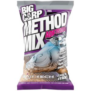 Kolejna zanęta z serii Big Carp Method Mix. Zawiera dużą ilość protein
