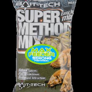 SUPER METHOD MIX MAX FEEDER Zanęta Bait-Tech 2kg Zanęty