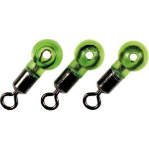 Wysokiej jakości krętlik wyposażony w gumkę zapobiegającą przetarciu się żyłki. Idealny do tworzenia zestawów przelowtowych.