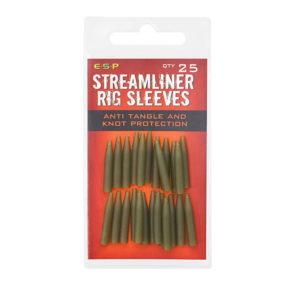 STREAMLINER RIG SLEEVES GREEN Rękaw ESP 25szt. Kod: ETSRS001WG Akcesoria Karpiowe