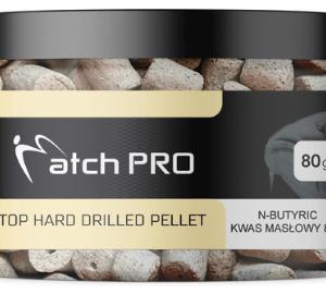 Wysokiej jakości twardy pellet haczykowy z otworem.