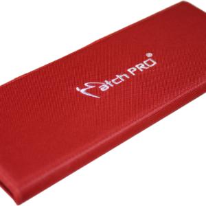 Portfel Szyty MatchPro 25cm Czerwony SLIM Haczyki