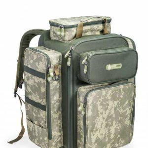 W pełni funkcjonalny luksusowy plecak w cyfrowym kamuflażu serii CamoCODE.