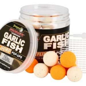Produkty z serii Garlic Fish łączą zalety mączki rybnej z legendarną wabiącą ryby siłą czosnku. Połączyliśmy olejki eteryczne i atraktory w proszku