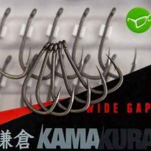 Korda Korda Kamakura Wide Gape Hooks 4  - Haki Karpiowe