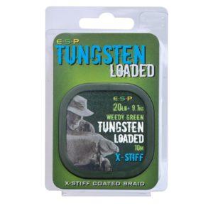 Plecionka TUNGSTEN LOADED X-STIFF ESP 10m Weedy Green Kod: ELTL20WGXS Żyłki / Plecionki / Linki