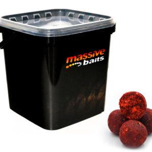 Massive Baits truskawka strawberry bergamota 3kg wiaderko