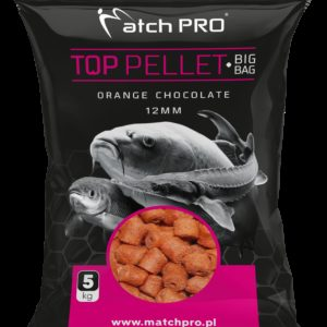 BIG BAG PELLET ORANGE CHOCOLATE 12mm MatchPro 5kg Pellety Zanętowe