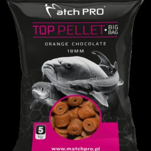 BIG BAG PELLET ORANGE CHOCOLATE 18mm MatchPro 5kg Pellety Zanętowe