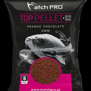 BIG BAG PELLET ORANGE CHOCOLATE 2mm MatchPro 5kg Pellety Zanętowe