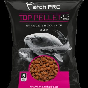 BIG BAG PELLET ORANGE CHOCOLATE 8mm MatchPro 5kg Pellety Zanętowe