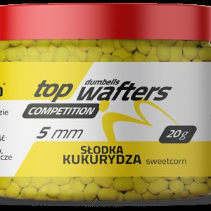 TOP DUMBELLS WAFTERS SWEETCORN 5x6mm 20g MatchhPro Przynęty do Methody / Karpiowe
