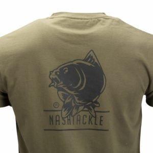 parentcategory1} T-Shirts C1142 Nash   Tackle T-Shirt Green XXL
