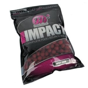 MAINLINE MAINLINE HIGH IMPACT BOILIES SPICY CRAB 20MM 1KG