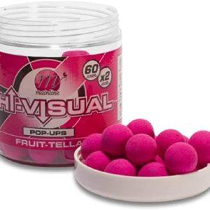 MAINLINE MAINLINE HIGH VISUAL POP UPS PINK FRUITTELLA 50PCS